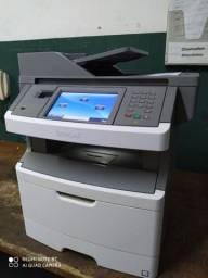 Impressoura e copiadora a laser Lexmark x464