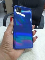 Vendo Samsung A, 31 1 semana de uso completo com nota fiscal. Sem nenhum problema