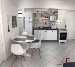 Apartamento mobiliado, com 2 quartos, próximo a Av. Antônio Sales