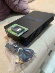 Título do anúncio: PlayStation 2 Fat novo*
