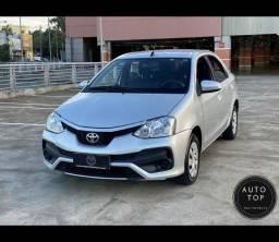 Etios Sedan XS 1.5 2018 *top**impecável**financio 100%**único dono**