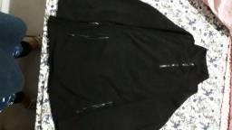 Blusa de frio com zíper