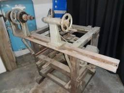 Torno/serra para madeira pesada
