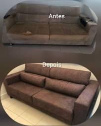 Estofador e restauração de móveis