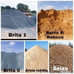 Título do anúncio: areia,barro,seixo e brita