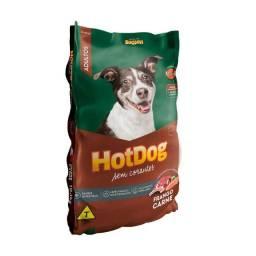 Título do anúncio: Ração Hot Dog Carne e Frango para cães adultos 15 kg ou 25 kg