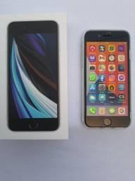(NOVO) Iphone SE 2020 (Branco)