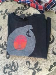 Camiseta preta Tam M