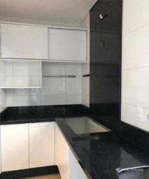 Apartamento Semi-mobiliado com 1 Suíte e 2 Quartos para alugar no Res. Jacarandá por R$ 1.