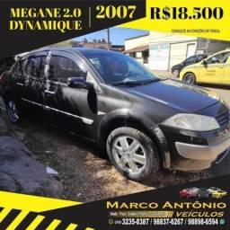 MÉGANE 2007/2007 2.0 DYNAMIQUE SEDAN 16V GASOLINA 4P AUTOMÁTICO