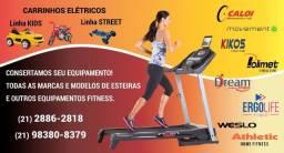 Conserto de esteira e produtos fitness