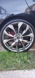 """Rodas Aro 20"""" com pneus"""