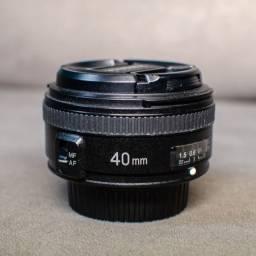 Lente YN40mm f/2.8N Yongnuo para Nikon