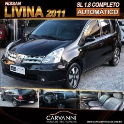 Nissan Livina SL 1.8 2011 Automático