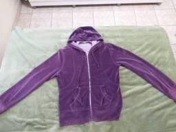 Lote com 5 blusas e uma jaqueta