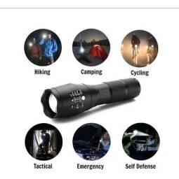 Lanterna tática x900 led super zoom