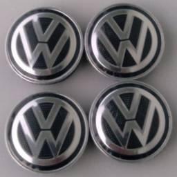Título do anúncio: Jogo calotas centrais rodas VW geração 6 G6