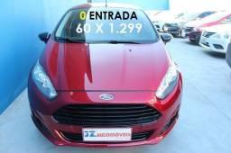 New Fiesta Sel 1.6 Vermelho 2017