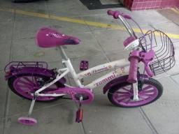 Bicicleta infantil feminina aro 16 novíssima