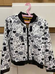 Blusa tipo jaqueta lilica repilica