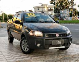Fiat Strada Hard Working Cab. Dupla 1.4 Flex 2016 COMPLETA | IPVA PAGO!!!