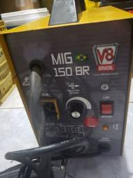 Título do anúncio: Máquina de solda Mig V8 brasil 150 amp.