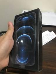 iPhone 12 PRO 128GB Azul Pacífico Lacrado Melhor Preço NF Anatel