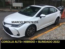 Título do anúncio: Corolla Altis Hibrido Blindado OKM