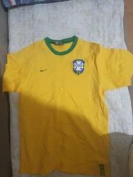 Camisa Original Nike Seleção Brasileira Infantil
