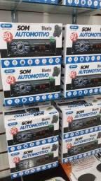 Som Automotivo Knup Kp-c30bh Usb Bluetooth Controle Volante