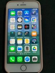 iPhone 7 256GB Rosé na caixa