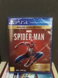 PS4 Jogos SPIDER-MAN e RATCHET CLANK Novos e lacrados!!!