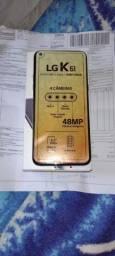 Vende-se celular LG k 61 128gb