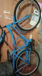 Bicicleta barra fort