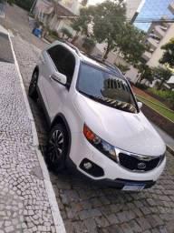 Kia Sorento 2012 3.5 V6 Gasolina Ex 7 Lugares Awd Automatica Branca Completa + Teto Solar