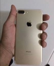 Iphone 7 plus com marca de uso