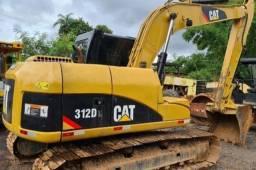 Escavadeira hidráulica Caterpillar 312d leia o anúncio