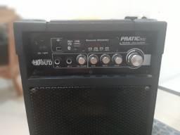 Caixa amplificada HS sound Pratic 300 com usb e Bluetooth + brinde