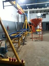 Título do anúncio: Fábrica de lajes treliçada automatizada!!!