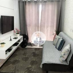 Apartamento com 2 dormitórios à venda, 55 m² por R$ 315.000,00 - Ocian - Praia Grande/SP