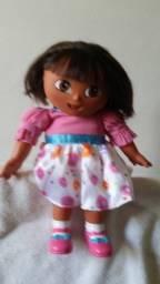 Boneca Dora aventureira falante 35cm- audio em Ingles