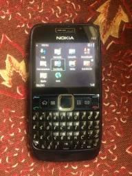 Título do anúncio: Celular Nokia E63 acessórios Originais
