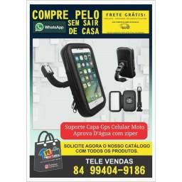 PROMOÇÃO Suporte de celular para moto GPS com zíper