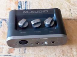 Interface De Audio M-audio Fast Track one