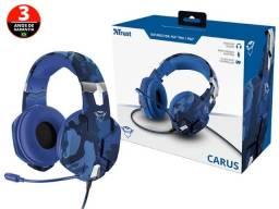 headset trust  23249 gxt-322b carus com driver 50mm
