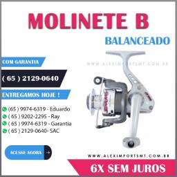 Molinete para Pescar Ms Jimmy 1 Rolamento Marine Sports Top