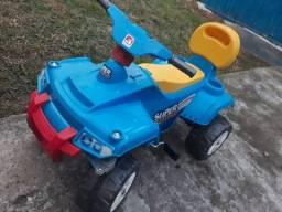 Quadriculado para crianças com pedal guarda volumes