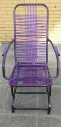 Cadeira de balanço de molas! Varias cores