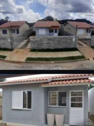 Casas financiada pela Caixa em bairro planejadio
