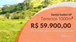 05) Terrenos de 1000m² em Santa Isabel